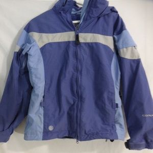 COLUMBIA CONVERT hooded jacket with sherpa lining